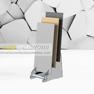 VC020 MDF Display Rack For Big Slab Tile Samples