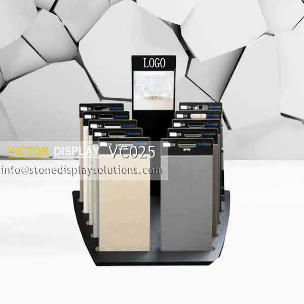 VC025 Customized Display Rack for Stone FLoor Tile Samples (2)