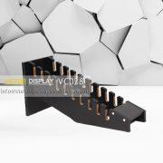 VC028 Heavy Duty MDF Slab Tile Display Rack