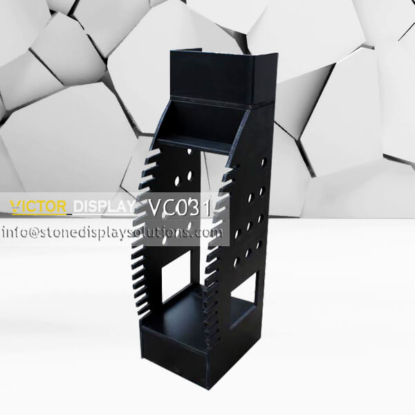 VC031 Floor Tiles Tower Rack with Innovative Design (1)