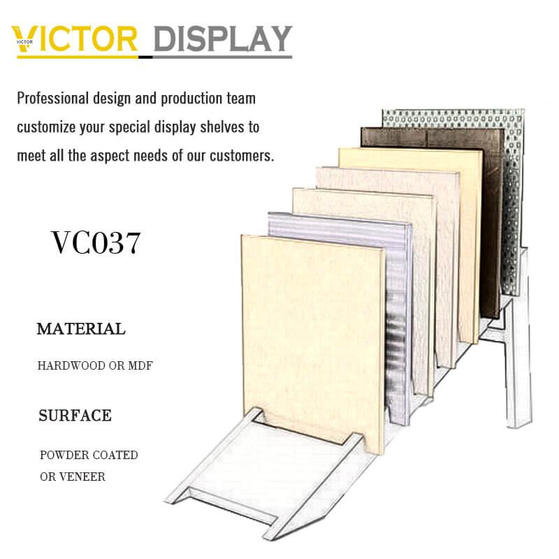 Flooring Displays Racks VC037 on Sale in Xiamen Victor Display