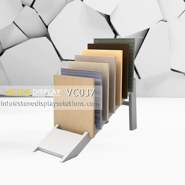 Flooring Displays Racks on Sale in Xiamen Victor Display