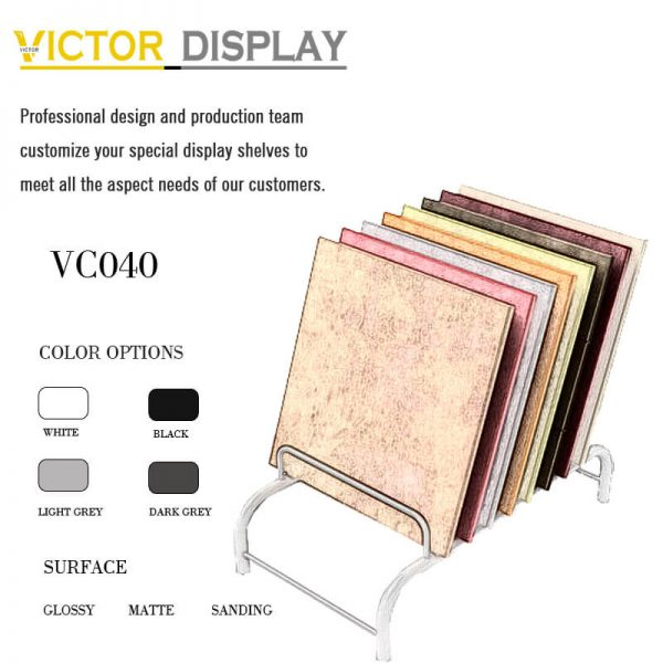 VC040 Metal Flooring Display Stand for Flooring Tiles (1)