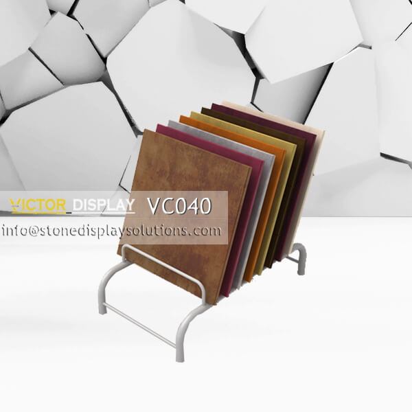 VC040 Metal Flooring Display Stand for Flooring Tiles (2)