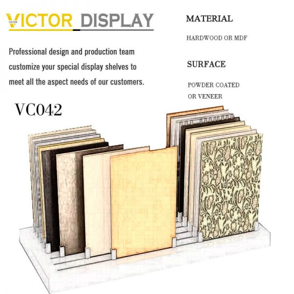 VC042 Wooden Flooring Display Stands (1)