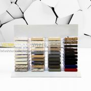 VQ116 10 Tier Counter Quartz Stone Display