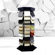 Quartz Stone Display Tower Rack