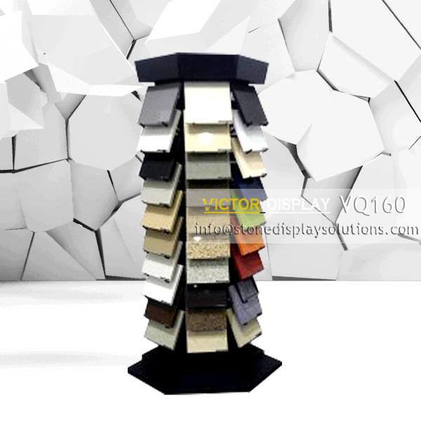 VQ160 Quartz Stone Display Tower Rack