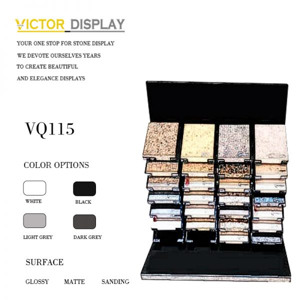 VQ115 Stone Showroom CounterTop Display (2)