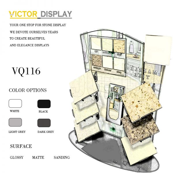 VQ117 Display Stone Samples In Style (1)