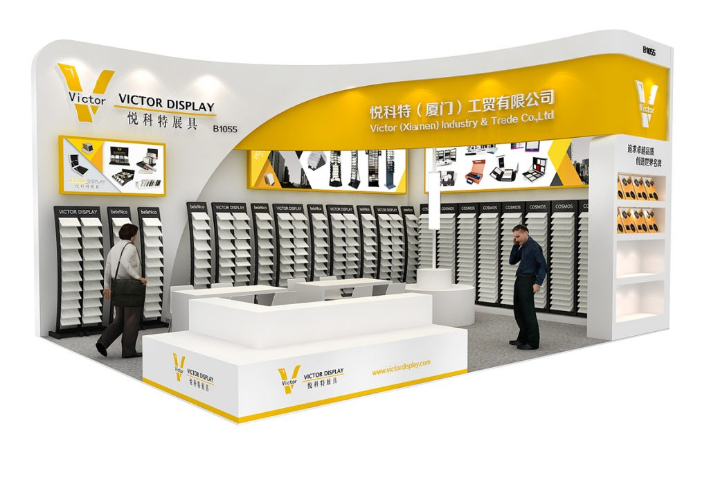 Victor Display in Xiamen Stonefair 2019