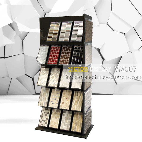 VM007 mosaic tile showroom display cabinet (2)