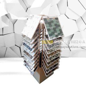 Glass tile Display Rack