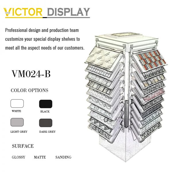 VM024-B mosaic ceramic tiles display rack (2)