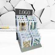 customize mosaic tiles sample rack