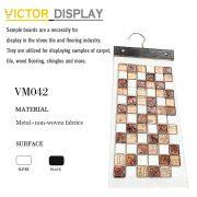 VM042 Non-woven fabric mosaic display hanger (2)