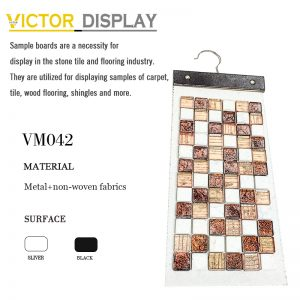 VM042 Non-woven fabric mosaic display hanger