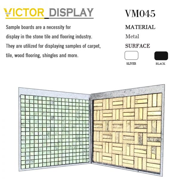 VM045 Plastic display boards for mosaic tiles (1)