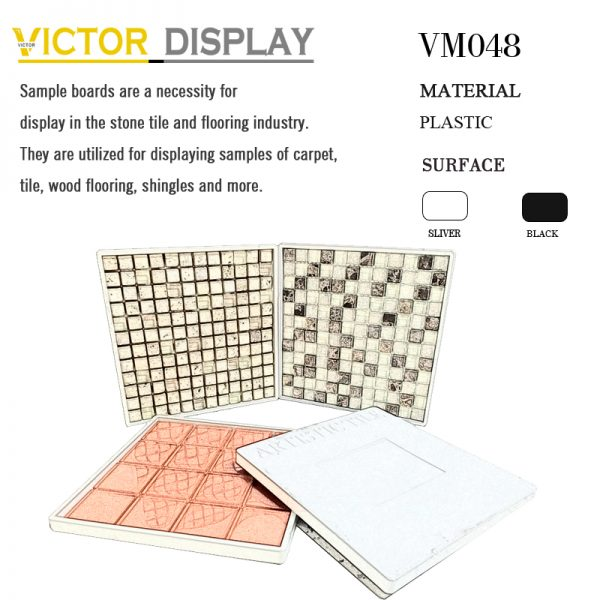 VM048 High Quality Mosaic Tile Design Display Board (2)