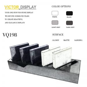 VQ198 Artificial Countertop Display Rack