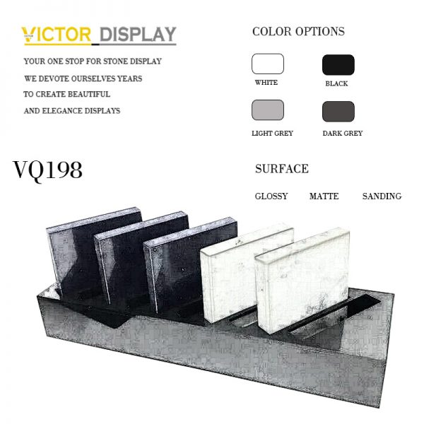 VQ198 VQ198 Artificial Countertop Display Rack