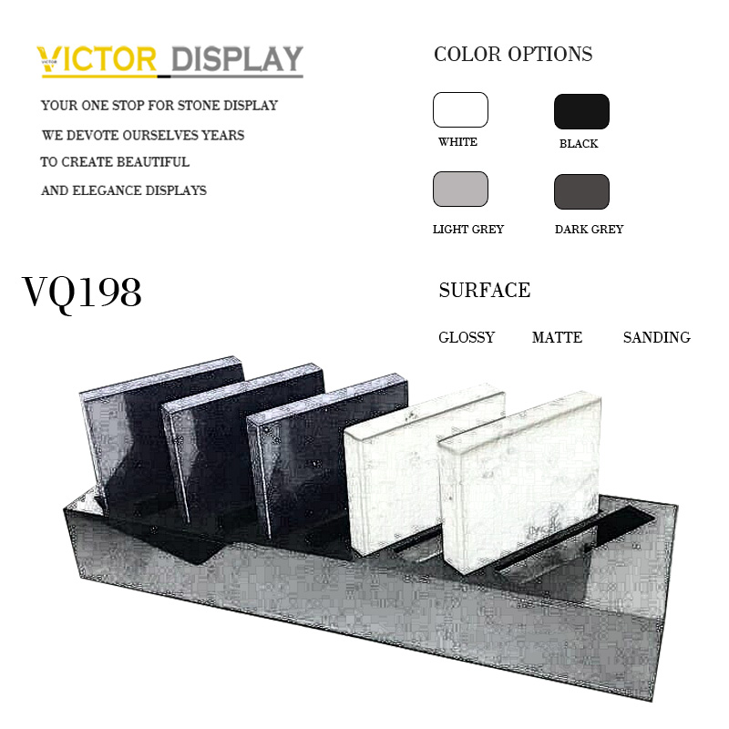 VQ198 Artificial Countertop Display Racks